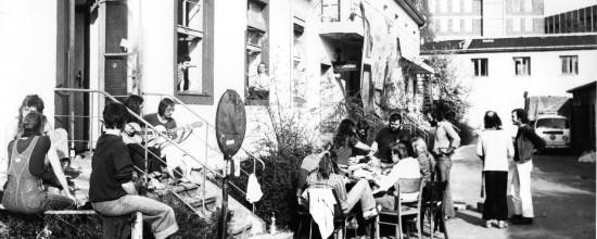 1979 - vor der Gemeinschaftsküche