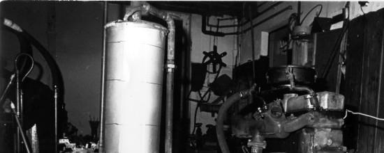 Prototyp einer kraft-Wäremekopplung aus altem LKW-Motor