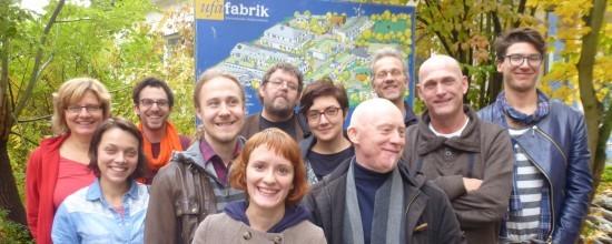 Gäste von Trans Europe Halles in der ufaFabrik