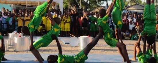 Circusakrobaten in Tansania