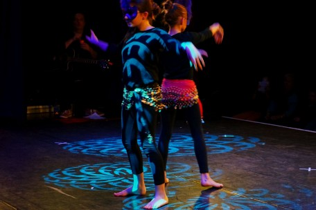 Orientalischer Tanz auf der Bühne